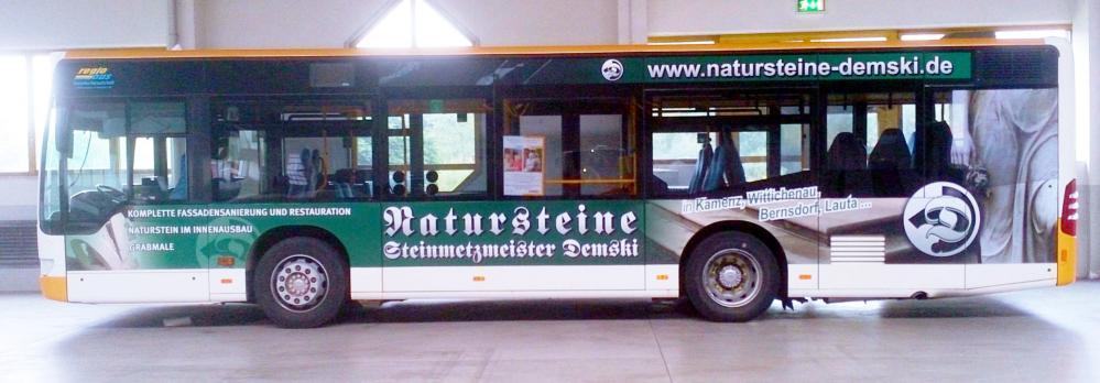 Linienbusbeschriftung Entwurf und Realisierung